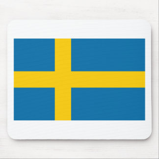Sveriges Flagga - Flag of Sweden - Swedish Flag Mouse Pad