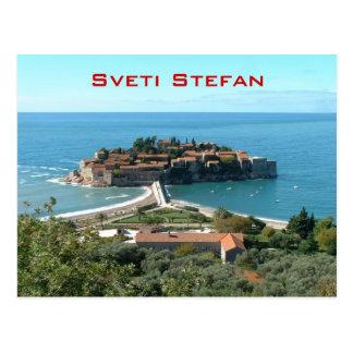 Sveti Stefan Postcard