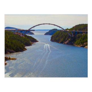 Svinesund new bridge postcard