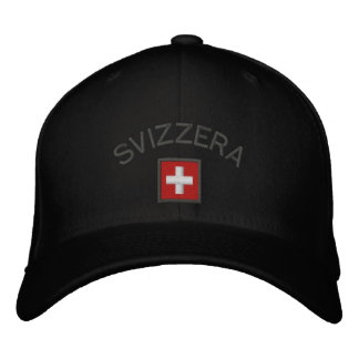 Svizzera Hat - Switzerland Cap With Swiss Flag