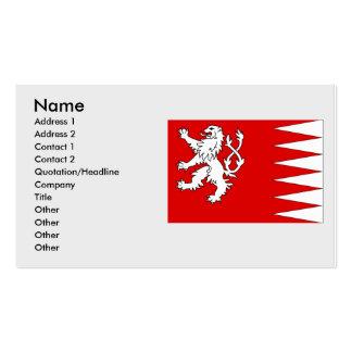 Svojanov, Czech Business Card