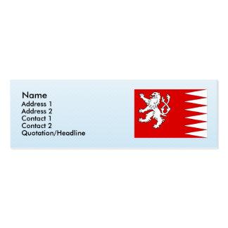 Svojanov, Czech Double-Sided Mini Business Cards (Pack Of 20)