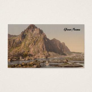 Svolvaer, Lofoten, Nord-Norge, Norway Business Card
