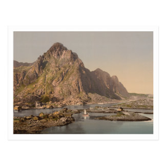 Svolvaer, Lofoten, Nord-Norge, Norway Postcard