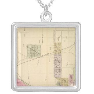 SW Omaha, Nebraska Square Pendant Necklace