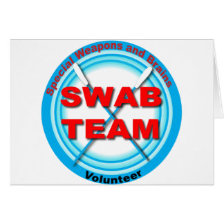 SWAB Special Weapons And Brains Card
