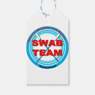 SWAB Special Weapons And Brains Gift Tags