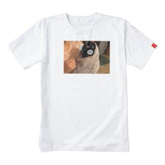 swaddled monkey baby zazzle HEART T-Shirt