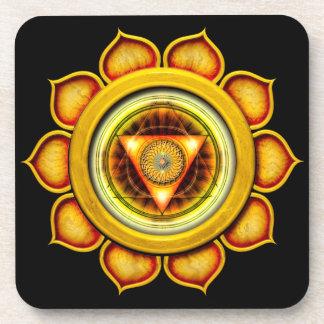 Swadhisthana o sacro el 2do Chakra Posavasos De Bebidas