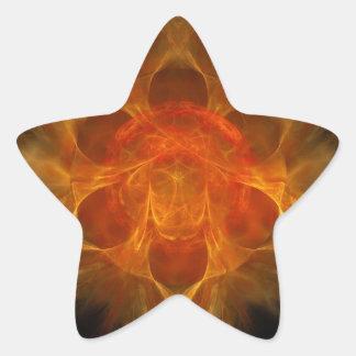 Swadhisthana Second Chakra - One's Own Abode Star Sticker
