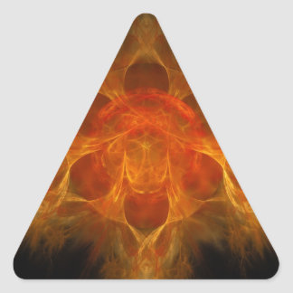 Swadhisthana Second Chakra - One's Own Abode Triangle Sticker