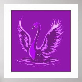 Swafari Swan print