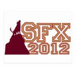 SWAG 2012 DE SFX TARJETAS POSTALES