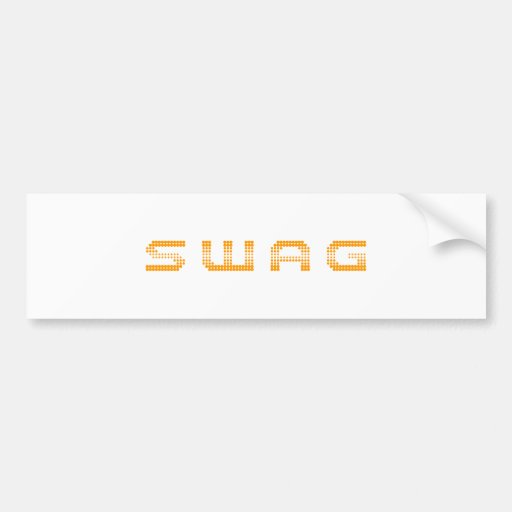 swag-2k-orange.png pegatina de parachoque
