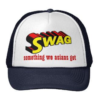 SWAG:  algo nosotros asiáticos conseguidos Gorra
