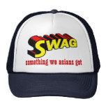 SWAG:  algo nosotros asiáticos conseguidos Gorros