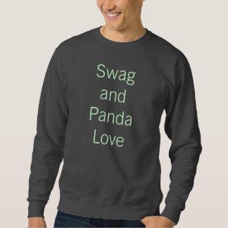 Swag And Panda Love Sweatshirt