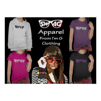 Swag Apparel Poster