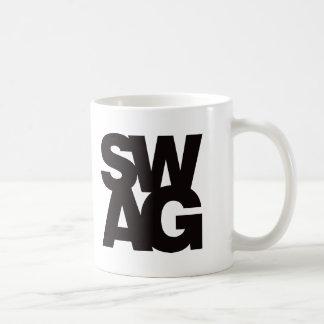 Swag - Black Coffee Mug