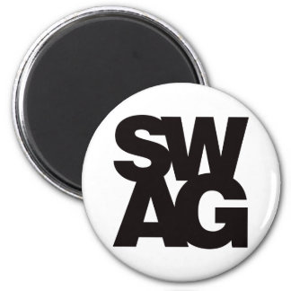 Swag - Black Fridge Magnets