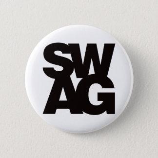 Swag - Black Pinback Button
