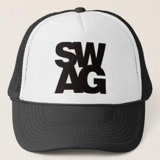 Swag - Black Trucker Hat