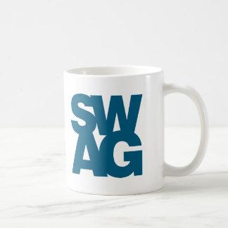 Swag - Blue Coffee Mug
