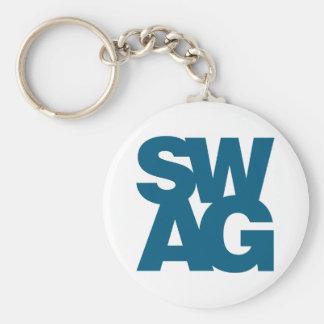 Swag - Blue Keychain