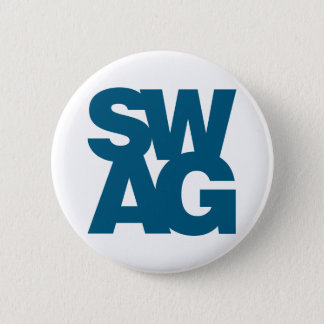 Swag - Blue Pinback Button