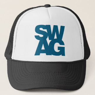 Swag - Blue Trucker Hat