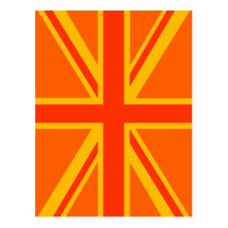Swag británico anaranjado de la bandera de Union J