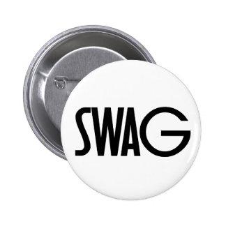 Swag 2 Inch Round Button