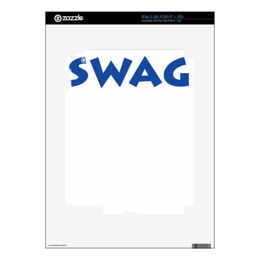 ¡Swag! Calcomanías Para El iPad 2