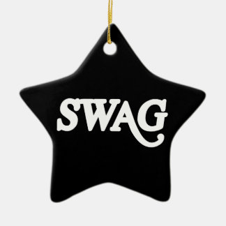 Swag Ceramic Ornament