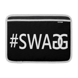 #SWAG/citas divertidas y frescas de SWAGG, Fundas MacBook