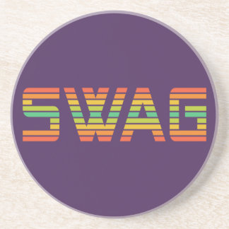 SWAG custom coaster