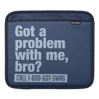 SWAG custom iPad sleeve