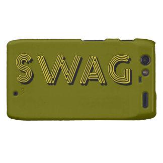 SWAG custom Motorola case Motorola Droid RAZR Cases
