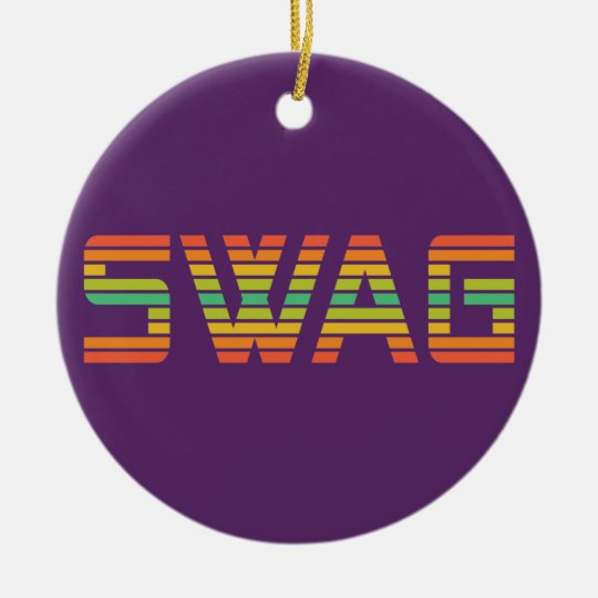 SWAG custom ornament
