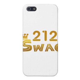 Swag de 212 Nueva York iPhone 5 Coberturas