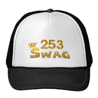 Swag de 253 Washington Gorras De Camionero