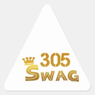 Swag de 305 la Florida Colcomanias Triangulo