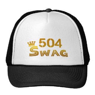 Swag de 504 Luisiana Gorros Bordados