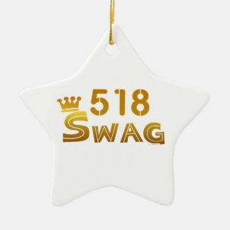 Swag de 518 Nueva York Adorno De Reyes