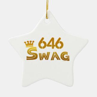 Swag de 646 Nueva York Adorno Para Reyes