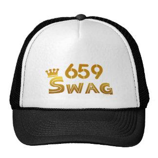 Swag de 659 Alabama Gorras De Camionero