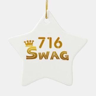 Swag de 716 Nueva York Adorno Para Reyes