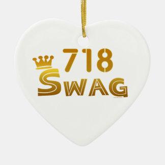 Swag de 718 Nueva York Ornaments Para Arbol De Navidad