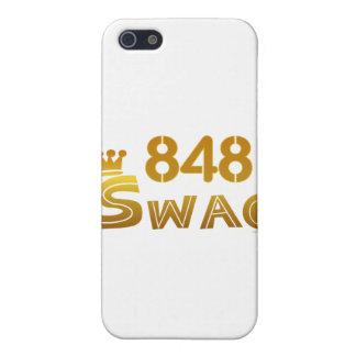 Swag de 848 New Jersey iPhone 5 Fundas