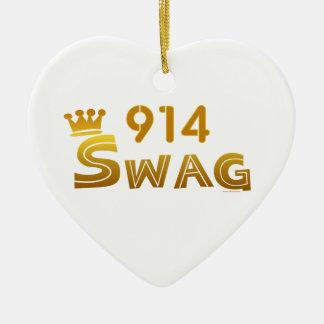 Swag de 914 Nueva York Ornamento De Navidad
